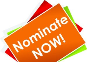 10 Days to Go! Deadline for Nominations: July 22nd